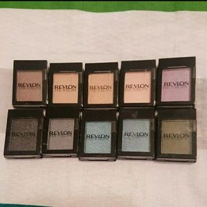 SET of 10 NEW Revlon Colorstay Eyeshadows